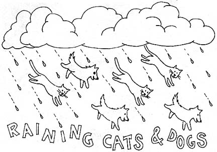 idiom coloring pages - photo#1